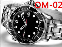 Fashion 007 - brand new Silver High quality Luxury Mechanical Fashion Wristwatche men watch sports Automatic Stainless steel Men s Watches