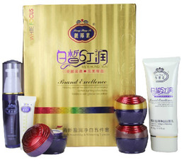 Wholesale 5 sets LiangBangSu professional whitening beauty cream Facial cleanser Cream set Gztingmay