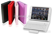Wholesale Neverland Leather Case Stand Cover w Wireless Bluetooth Keyboard for Apple iPad mini