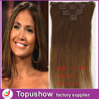 Wholesale 27 g quot set Queen Brazilian Virgin Peruvian Hair Fashion Silky Human Hairpiece HE