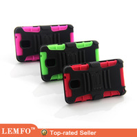 Wholesale For Samsung Galaxy Note Robotic Belt Clip Multi Color Hard Cover Case with Stander