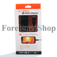 Wholesale 350 SlimPort Adapter cable to HDMI MyDP for Google Nexus Fujitsu Arrows Tab LG optimus G pro ASUS Padfone infinity AP6