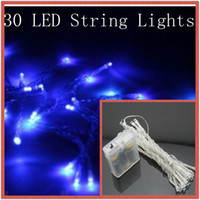 Blue Christmas BATTERY 30LED String MINI FAIRY Light Wedding...