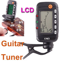 Wholesale Professional in LCD Digital Acoustic Guitar Tuner Metronome Tone Generator EMT Guitar Parts amp Accessories