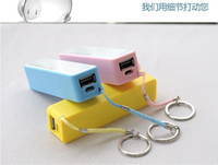 Best Perfume 2600mAh mini USB Power Bank Portable External Battery Charger For samsung iphone 5 5C 5S 4S htc colorful