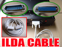 Wholesale M length waterproof ILDA cable for laser light DMX cable FEMALE MALE