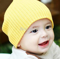 Boy Summer Crochet Hats christmas RThe Warm Baby Caps Crochet Costume Baby Red Hats Children's Knitted Winter Autumn Cap For Girl Boys New Fashion Free Shipping