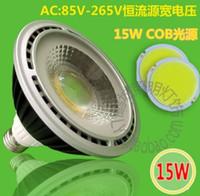 Wholesale W Par30 Dimmable COB LED Spot light E27 Spotlight integrated Par Lamp High Power Warm Cold White V CE ROHS