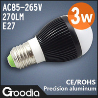 Wholesale LED light Hot W V Warm cool white LED energy saving light bulbs