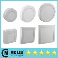 Wholesale 9W W W Dimmable Led Recessed Downlights Warm Natural Cool White Led Surface Panel Wall Ceiling Down Lights V