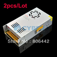 Wholesale 2pcs New V A W Regulated Switching Power Supply for LED Strip Light