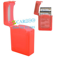 Wholesale New arrival External Box Red Hard Disk Driver Protective Case Enclosure For quot SATA HDD