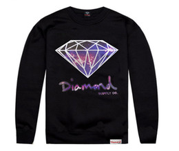 Wholesale Autumn and winter hip hop hiphop sweatshirt diamond supply co diamonds o neck outerwear casual pullover men s clothing