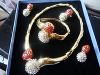 K3007 New Design Fashion Jewelry Sets Inlaid Zircon Luxury A...