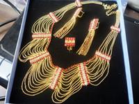 K3006 New Design Fashion Jewelry Sets Inlaid Zircon Luxury A...