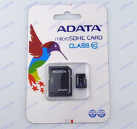 Wholesale Adata GB class Microsd SDHC Memory Card With Adapter Blister Packaging t