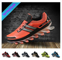 Wholesale Original quality men Springblade running shoes mens Tenis Tank chain Athletic sports Shoes bounce shoes