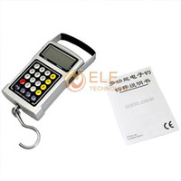 Pocket Scale <50g 50kg 50Kg x 20g Fish Hook Hanging Digital Weighing Scale