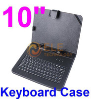 Wholesale 10 quot Tablet Case English Keyboard for flytouch inch VIA8850