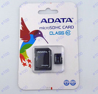 Wholesale 32GB ADATA Micro SD TF Memory Card Class Flash Micro SD SDHC Cards With Retail Box Cheap V084 M025W