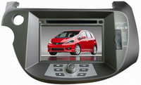 Wholesale car multimedia player for Honda Fit with gps dvd sat navi stereo system ipod USB Mp3 MP4 auto car DVD Players OCB