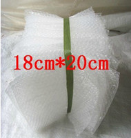Wholesale 18 CM Bubble cushioned mailer air bubble bag Bubble Pouches Cushioning Wrap Bags
