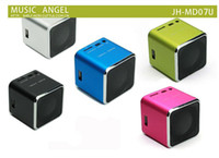 Wholesale Free send DHL mini stereo subwoofers mini speaker portable card speaker usb radio outside the MP3 player