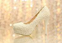 Wholesale 2014 Beautiful Platform High Heel Dress Shoes Bridal Wedding Dress Shoes Evening Dress Shoes Anniversary Party Shoes X mas Gift