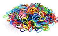 Wholesale Hot sell Rainbow Loom Rubber Band Refills Twistz Bandz rubber bands S hook crocheting