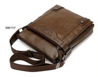 Wholesale New Leather BAG Women Unisex Men s Messenger Bags Fashion Casual Business Shoulder Handbags for man BAG