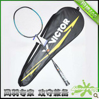 Wholesale New VICTOR brand carbon badminton racket carbon battledore badminton racket