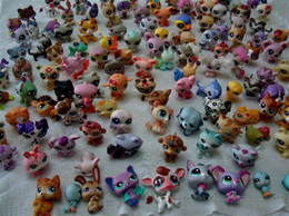 Wholesale LPS Littlest Pet Shop petshop pets figure HasBro Mini toy Children Christmas Gift Gifts
