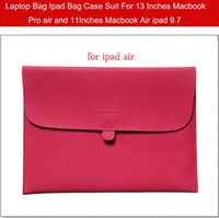 Wholesale Laptop Bag ipad Bag Case Suit For ipad air ipad2 inches Inches Macbook Pro air and Inches Macbook air