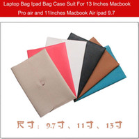 Wholesale Ipad Bag computer Bag Case Suit For ipad air ipad2 inches Inches Macbook Pro air and Inches Macbook air