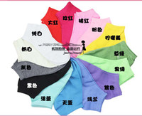 Socks cheap socks - Hot selling cheap fashion to worldwide womens cotton sock slippers cotton pure color short socks