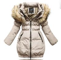 Down Coat Girl  New arrival super warm filler 100% down,girls outwear Parkas kids long design down coat children winter clothing,free shipping
