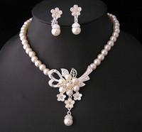 Cheap Jewelry Sets Jewelry set Best Pearl Crystal wedding jewelry