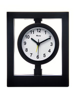 Wholesale Elegant Round Shape Analog Display Glass Plastic Wall Clock chair cover u10 w8l