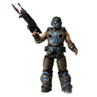 Wholesale EMS NECA Gears Of War COG Soldier Action Figure Toys cm PVC Figures