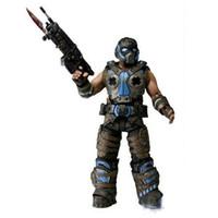 Wholesale Hot sale NECA Gears Of War COG Soldier Action Figure Toys cm PVC Figures