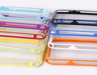 For Samsung   TPU slim bumper for Samsung Galaxy Note 2 N7100 cellphone protector