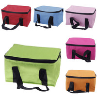 Wholesale Fashion Insulated Foil Lunch Bag Waterproof Oxford Portable Versatile Picnic Insulated Cooler Bag Colors Choose DGZ