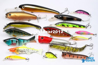 other Hard lure on sale On Sale 17 pcs high quality fishing hard lures baits Live trout etc. OS-E2