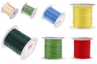 Wholesale 5Roll M mm Elastic Glossy Crystal Cord Stretchy Cable Durable Shambhala Beading Thread Rope Bracelet Jewelry Making DIY ND