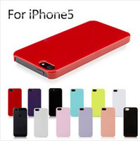 Plastic apple pudding - Ultra Thin DIY Case Candy Pudding Jelly Clear Solid Color Skin Hard PC Plastic Back cover Material Shell for Apple iphone S G G S C