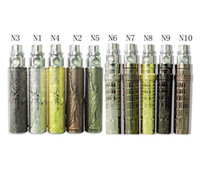 Wholesale Colorful E Cig Battery Statue of Liberty and Relievo Tower Design mAh Ego N Color Battery Electronic Cigarette Battery