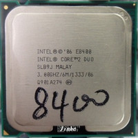 Wholesale Intel Core Duo Cpu E8400 GHz MB MHz For socket Processor Desktop