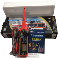 Wholesale New Automotive circuit detector Multi function car circuit tester multimeter test lamp voltage test lighting lamp and probe