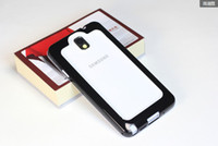 For Samsung   Two color Plastic TPU Bumper Frame Case For Samsung Galaxy Note 3 n9000
