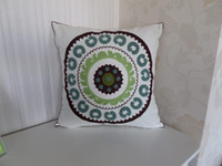 no filling embroidery work - special embroidery crewel works cushion cover quot cm square cover sofa cushions